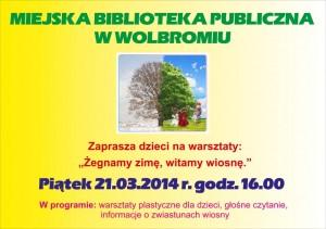 plakat wiosna 2014